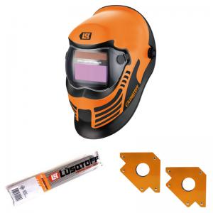 Máscara Fotosensible Lusqtoff ST-1B + Escuadras + Electrodos KIT !