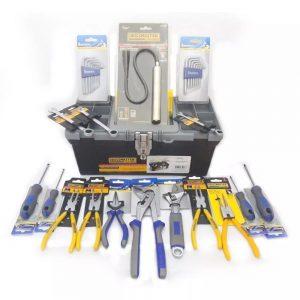 Set Caja De Herramientas Kit Mecanicos Con 18 Piezas Oferta