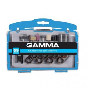 Set Kit Accesorio Mini Torno Gamma Juego 69 Piezas Estuche