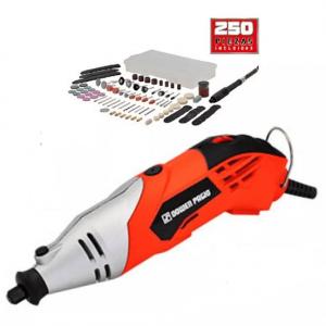 Minitorno Electrico 160w 250 Piezas Eje Flexible Dowen